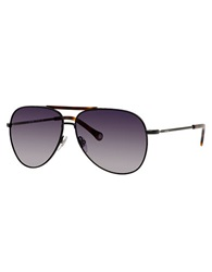 Jack Spade Hopkins Metal Aviator Sunglasses Black