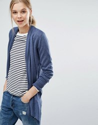 Abercrombie And Fitch Waterfall Cardigan Navy