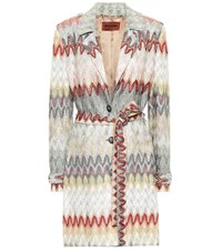 Missoni Striped Coat Multicoloured