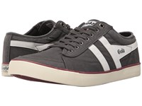 Gola Comet Graphite White Burgundy Men's Shoes Gray
