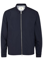 Folk Navy Shell Jacket