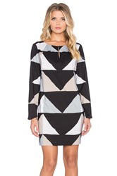 Mara Hoffman Keyhole Mini Dress Black