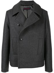Martin Grant Fitted Double Breasted Coat 60