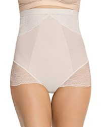 Spanx Spotlight On Lace High Waisted Brief 10121R Clean White