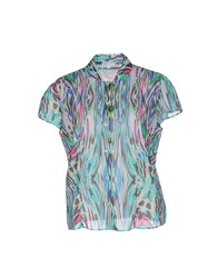 Robert Friedman Shirts Shirts Women Turquoise
