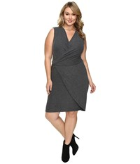 Tart Plus Size Analyse Dress Charcoal Women's Dress Gray