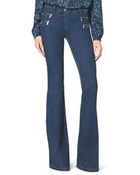 Michael Kors Flare Jean Chambray