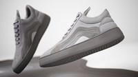 Filling Pieces End. X Low Top Cleo 'Heat Map' Grey