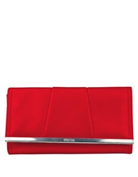 Kenneth Cole Reaction Barcelona Flap Clutch Wallet Red