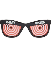 Jeremy Scott X Ray Vision Sunglasses Black