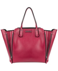 Kenneth Cole Reaction Hard Core Tote Berry Stain