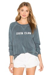 Mother The Square Sweatshirt Teal