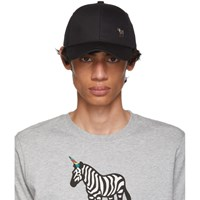 Paul Smith Ps By Black Zebra Baseball Cap