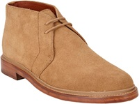 Duckie Brown Suede Military Chukka Boots Yellow Size 9