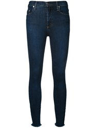 Nobody Denim Cult Super Skinny Ankle Blue