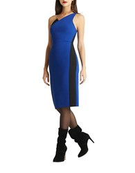 Bcbgeneration One Shoulder Midi Dress Electric Blue