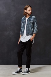 Cheap Monday Type X Denim Jacket Black