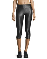 Koral Lustrous Capri Athletic Leggings Black