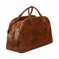 Maxwell Scott Bags Tan Ladies Leather Luggage Bag