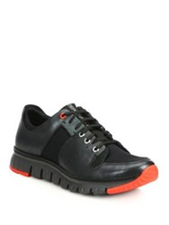 Saks Fifth Avenue By Cole Haan Zerogrand Sport Oxford Sneakers Black
