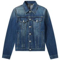 Alexander Mcqueen Denim Jacket Blue