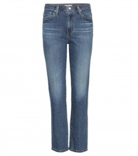 Alexa Chung For Ag Sabine High Rise Jeans Blue