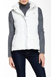 Tommy Hilfiger Quilted Vest White