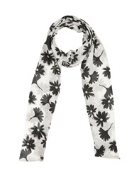 Anna Rachele Jeans Collection Oblong Scarves White