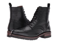 Frye George Lug Brogue Lace Up Black Vintage Pull Up Men's Boots