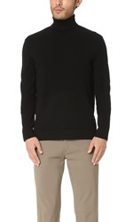 Theory Donners Cashmere Turtleneck Sweater Black