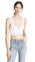 Torn By Ronny Kobo Yelet Top White