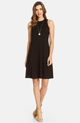 Women's Karen Kane High Neck A Line Dress