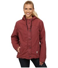 Carhartt Sandstone Berkley Jacket Cinnamon Red Women's Jacket Multi