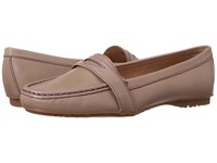 Sebago Meriden Penny Taupe Leather Women's Slip On Shoes