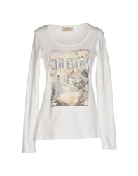 Just For You Topwear T Shirts Women White
