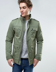 Tommy Hilfiger Denim Four Pocket Military Field Jacket Green