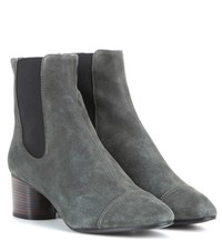Isabel Marant Danae Suede Ankle Boots Grey