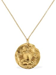 Alighieri The Scattered Decade Chapter I Necklace Gold