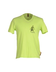 John Galliano Underwear Underwear Undershirts Men Acid Green