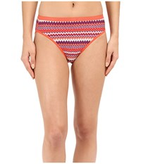 Exofficio Give N Go Printed Bikini Brief Sriracha Stripe Women's Underwear Orange