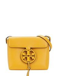 Tory Burch Miller Leather Shoulder Bag Yellow