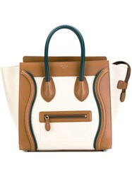 Celine Trapeze Tote Women Calf Leather One Size Brown