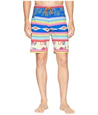 Toes On The Nose Serape Boardshorts Multi Swimwear