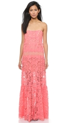 Bcbgmaxazria Melannie Dress Pink Coral