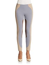 Marc Jacobs Colorblock Riding Leggings Grey