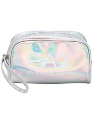 Emporio Armani Ea7 Gym Lux Clutch Women Polyurethane One Size Metallic