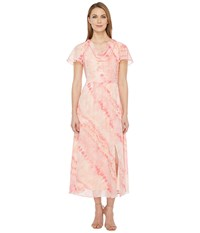 Christin Michaels Discovery High Low Dress Blossom Women's Dress Pink