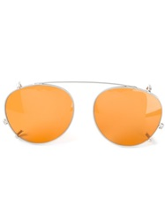 Kyme 'Clip On Miki' Sunglasses Yellow And Orange