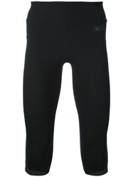 Y3 Sport Fitted Tracksuit Bottoms Men Polyamide Spandex Elastane L Black