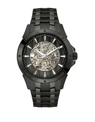 Bulova Round Automatic Watch Black